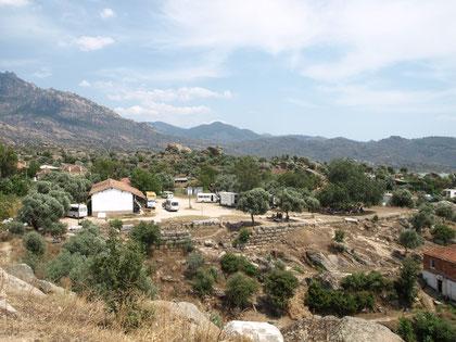 Blick auf die Agora
