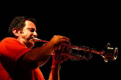 Maurizio Piasotti trombettista del quartetto