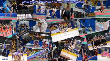 al paladesio si è svolto il gran gala' d'inverno della fisac federazione italiana sport acrobatici e coreografici,un grande evento che ha riunito i campioni europei di nuove discipline, fitkid, acroda