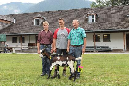 Hannes Rainer, Rupert Hasenauer und Josef Wallner (v.l.n.r.)