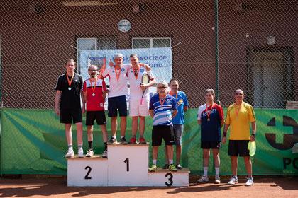Herren Doppel: Sieger Ivo Junker/Cédric Benke (SUI)