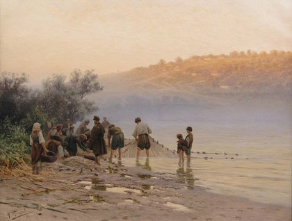 Gemälde von Sergejew, erzielte bei uns 100.000 €. Gemäldeauktion & Gemäldeankauf