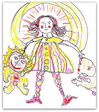 Inner Child Drawings Are A Profound Way To Access Aspects Of Your Psyche That You May Not Normally Pay Attention