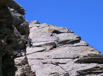 Klettersteig Tschenglser Hochwand