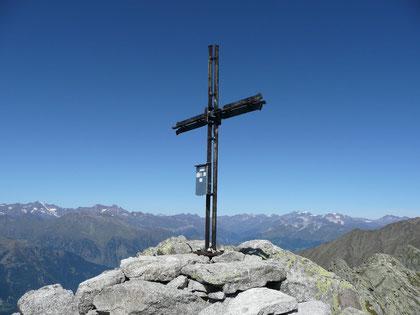 Am Gipfel der Verdinser Plattenspitze