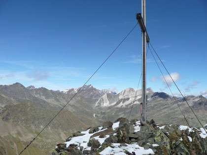 Am Gipfel der Zielspitze