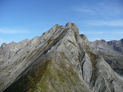 Aufstiegsgrat zum Söllerkopf