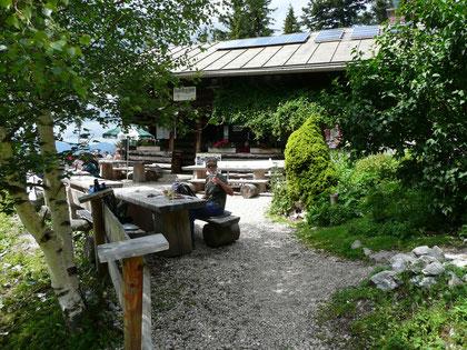 An der Brunnsteinhütte