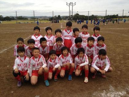 東金フットサル大会 成田SSS3年・Aチーム準優勝