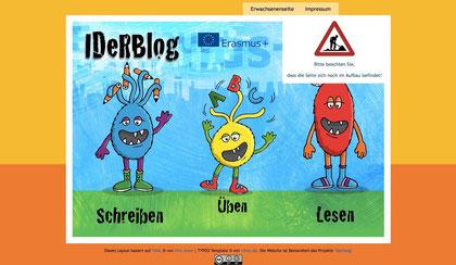 IDeRBlog Homepage-Startbild