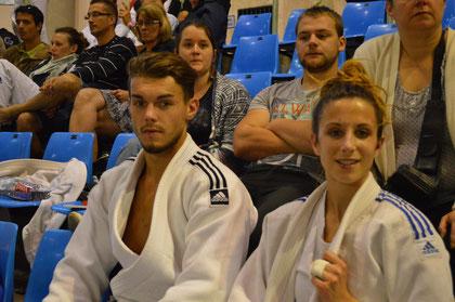 Florian Lesellier -81 kg et Laura Pain -48 kg au Championnat de France 2D