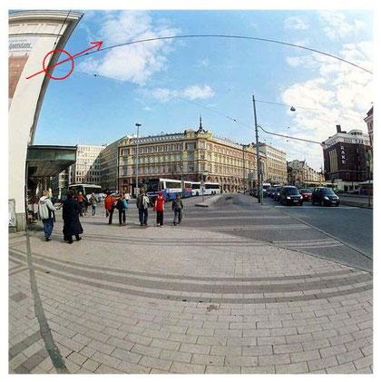"""""""Platz vor dem schwedischen Theater in Helsinki"""""""
