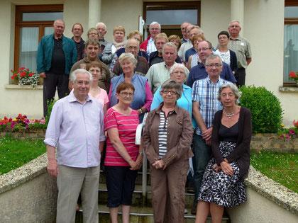 Quelques uns de bénévoles 2014
