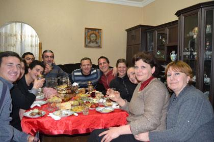 Zu Gast bei Dimitri und Familie