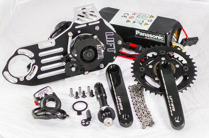 Trasforma la tua bici in una bici elettrica.