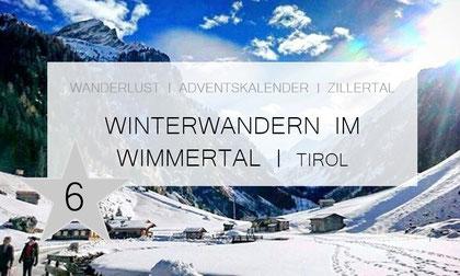 Wimmertal - Wandern im Winter/ Tirol - Gerlos - Zillertal (Wandertour)