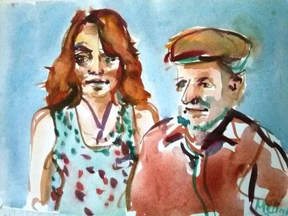 Sabina Schalla, Harald Mushack