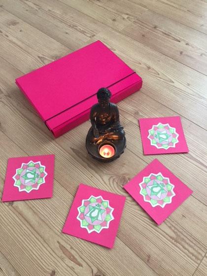 Herz-Chakra - Symbolkarten