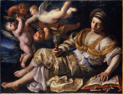 Allegoria della fede di Bernardino Mei