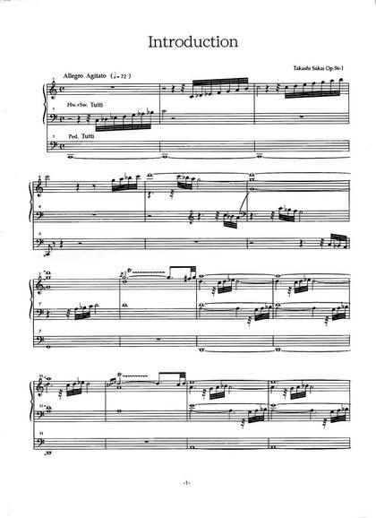 イントロダクションとフーガ ハ長調「新世紀21」Op.56