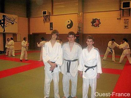 Trois jeunes judokas font honneur à la section - Haute-Goulaine mercredi 18 novembre 2009