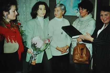 Персональная выставка в Музее человека, 1999