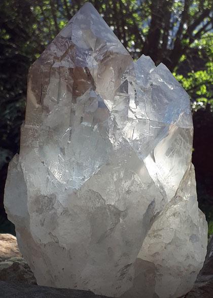 Himalaya Bergkristall Quarzkristall Kristall Quarz Kathedrale Kathedralenkristall Kathedralenquarz Elestial Elestialkristall quartz cathedral ice quartz Erdenhüter