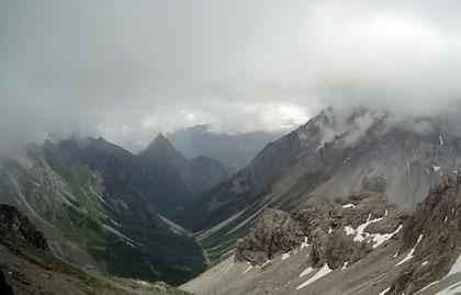 Alpen Österreich Memminger Hütte Zams