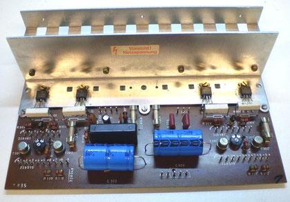Endverstärker DUAL CV 62 restauriert