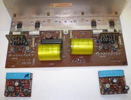 Endverstärker DUAL CV 62 unrestauriert