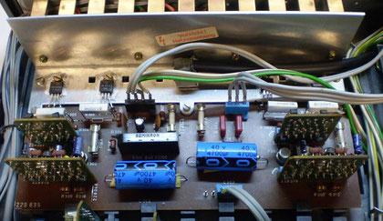 Endverstärker CV 62 restauriert mit Platinen