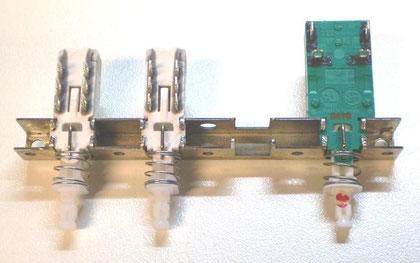 DUAL CV 1200 Powerschalter, Lautsprechergruppenschalter