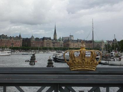 Brücke nach Skeppsholmen