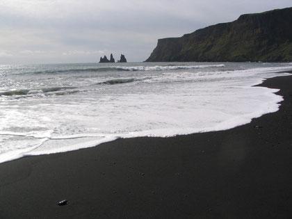 Het zwarte strand in Vik