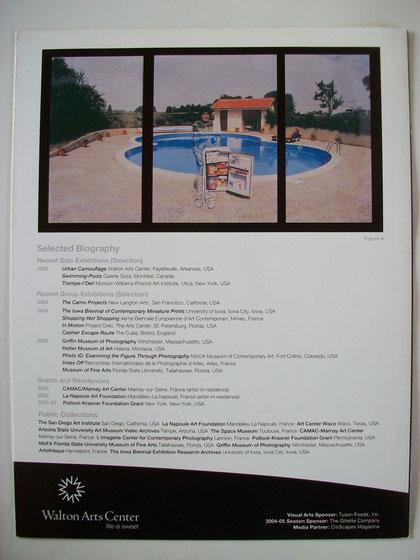 Walton Arts Center, exhibition booklet