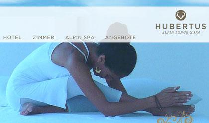 Yoga retreat l yoga ferien yoga willkommen for Designhotel hubertus alpin lodge spa