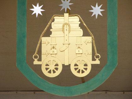 Stadtwappen - seit 2005 ist Willkischken Stadt