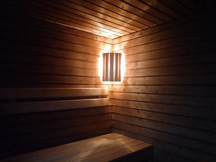 Urige finnische Sauna