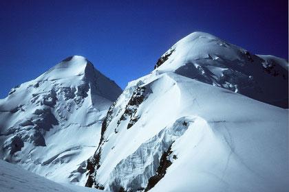 Bild: Castor 4226 m & Pollux 4091 m
