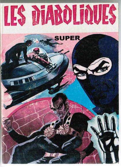 La copertina del n. 50 delle raccolte francesi Les Diaboliques