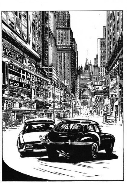 Ginko e Diabolik a New York