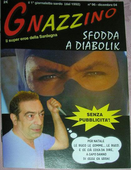 La copertina di Gnazzino