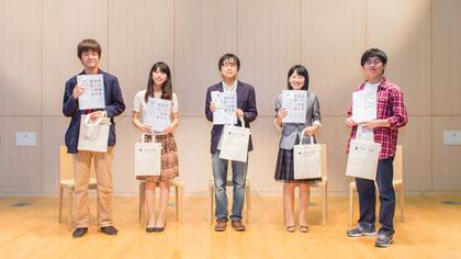 出演したあざみ色朗読隊のアナウンサー5名 | 金沢海みらい図書館、10月5日午後4時