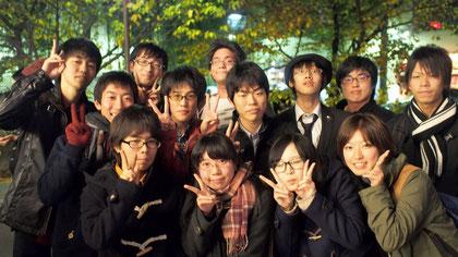 THK筑波放送協会との記念写真