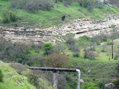 Rocks in Careenage Ravine