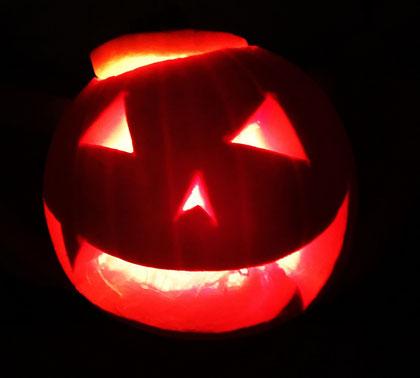 zucca Halloween - Jack O Lantern
