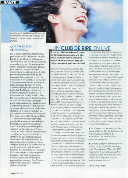 Gael magazine Août 2009