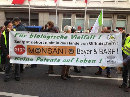 Bei mir in Düsseldorf lief die Demo etwas beschaulicher ab als im Mai 2013. Trotzdem war es eine gelungene Veranstaltung.
