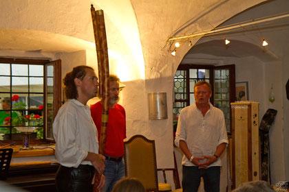 Bernhard Mikuskovics, Bernhard Hanreich, Wolfgang Peschel   Foto Felix Krepler