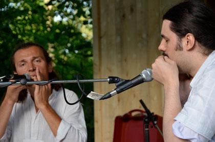 Bernhard Mikuskovics und Wolf Janscha Foto Rita Heitzinger